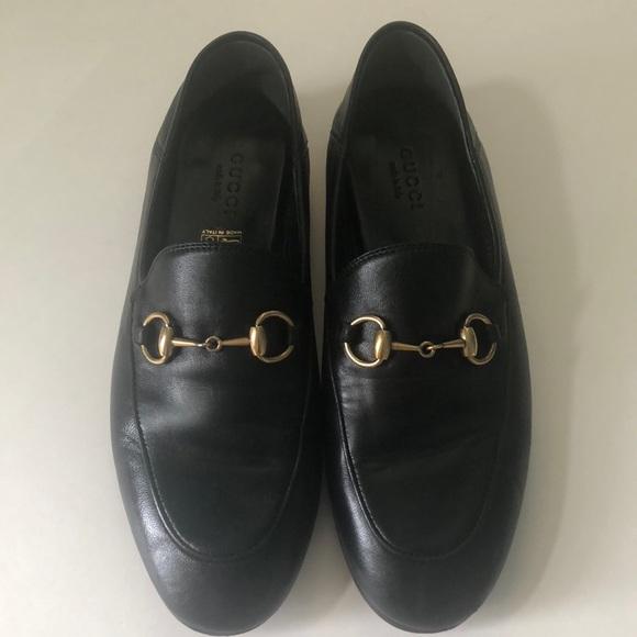 fbc2494dd24 Gucci Shoes - Gucci Brixton Convertible Loafers Black 35